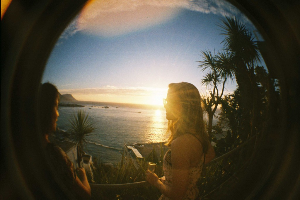 fisheye girl